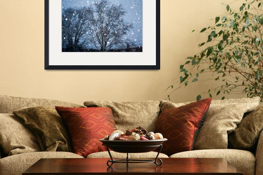 """""""Philly in the snow&quot  (2010) by onsomeotherstuff"""