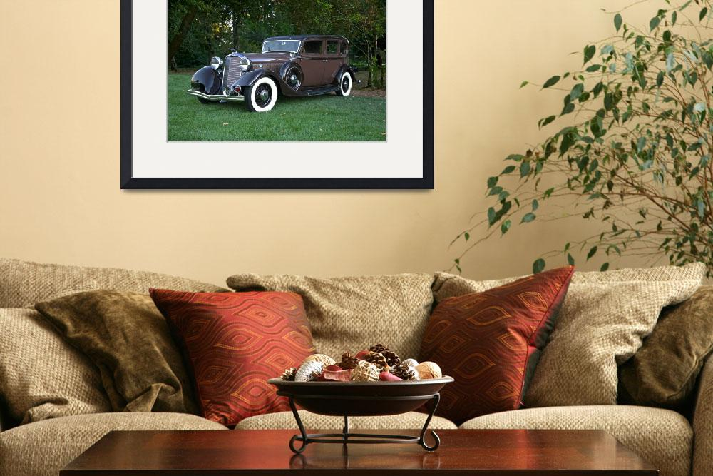 """""""1933 Lincoln Sedan&quot  by FatKatPhotography"""