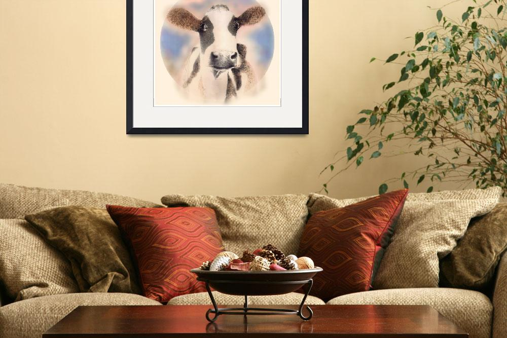 """""""solf cow""""  (2010) by MichaelGodey"""