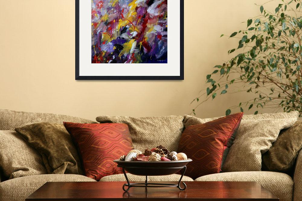"""""""Abstract painting&quot  (2011) by zampedroni"""