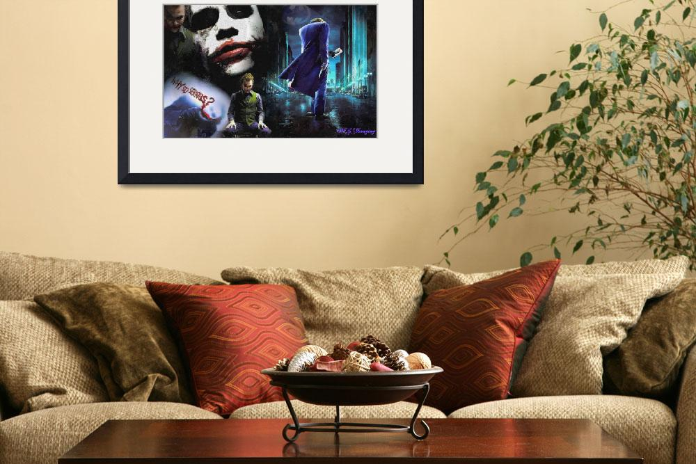 """""""The Joker&quot  (2011) by MGImaging"""