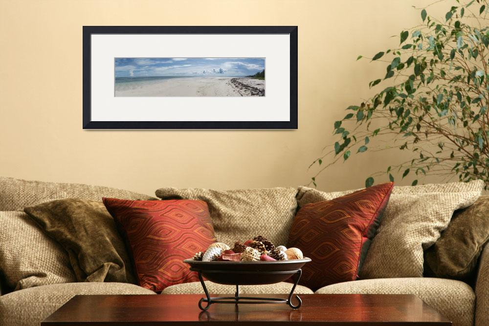 """""""10633 Beach Day Pano""""  (2014) by PamelaWilliams"""