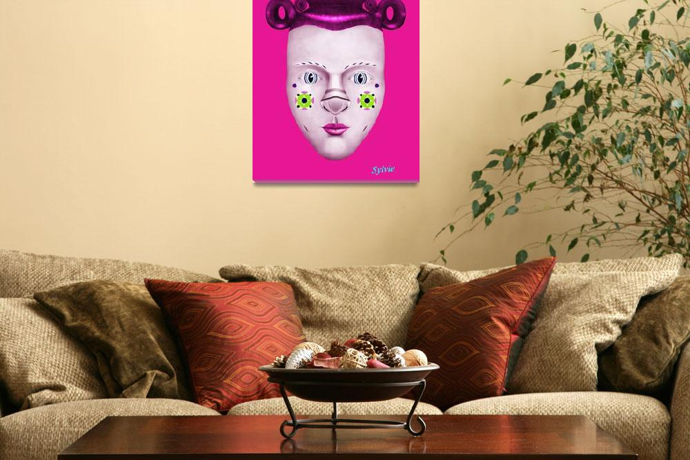 """Sylvie  Hot Pink""  (2010) by patrou"