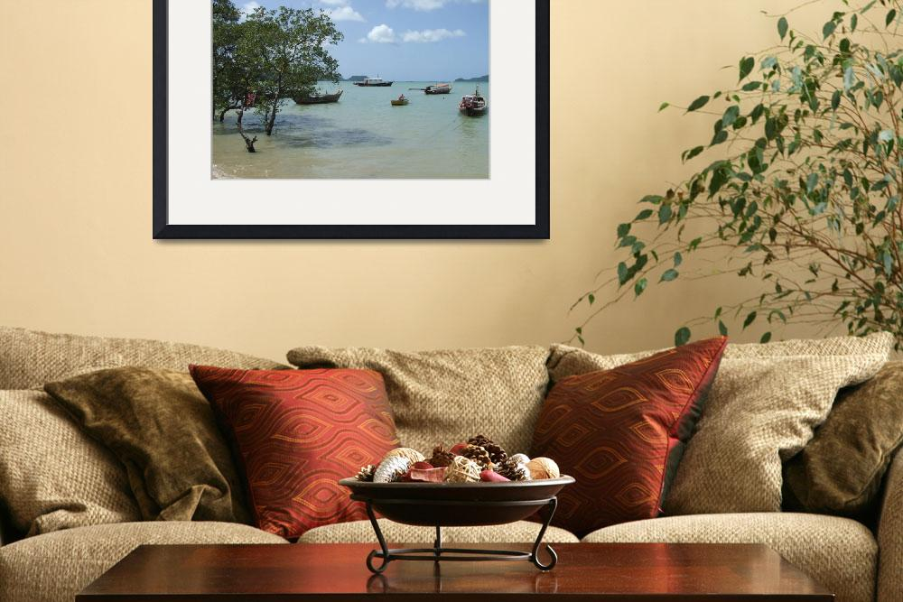 """""""Phuket Beach&quot  (2009) by riverrovers"""