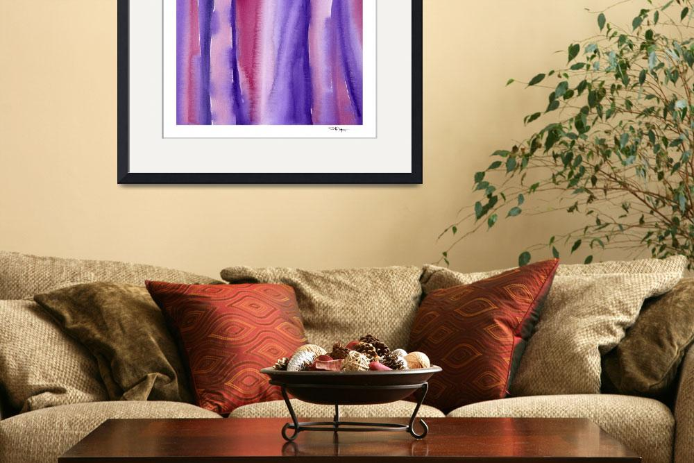 """""""""""Shades of Purple and Red""""&quot  (2015) by k9artgallery"""