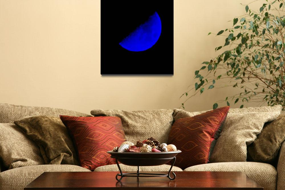"""Blue Moon&quot  (2012) by brianraggatt"