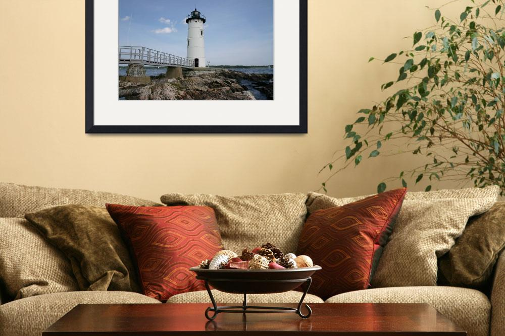 """""""Portsmouth Harbor Lighthouse&quot  (2009) by imageguy"""