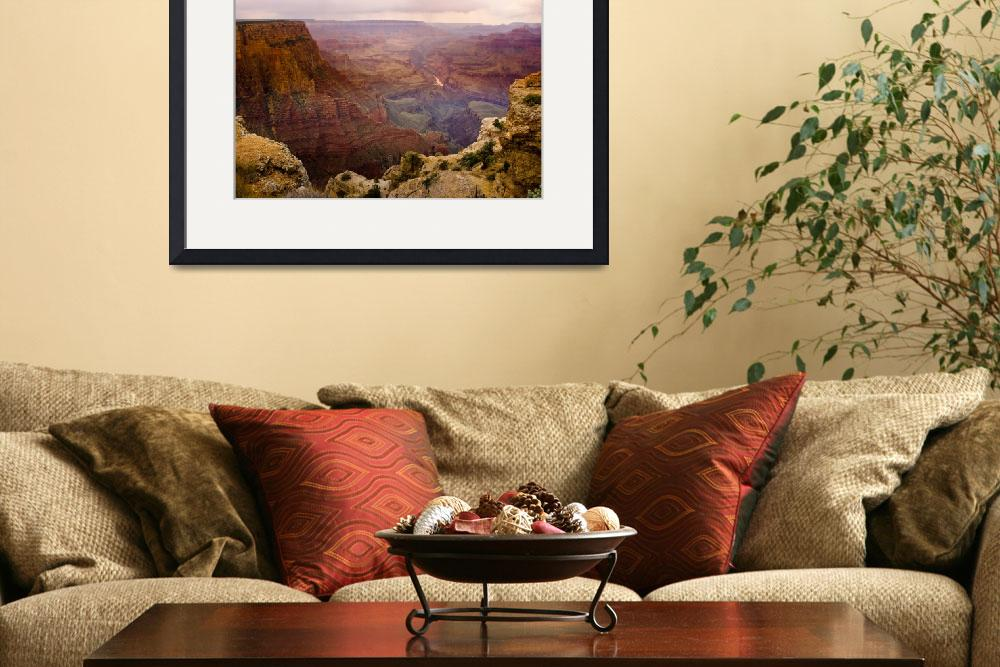 """""""Grand Canyon in the Spring&quot  (2009) by lightningman"""