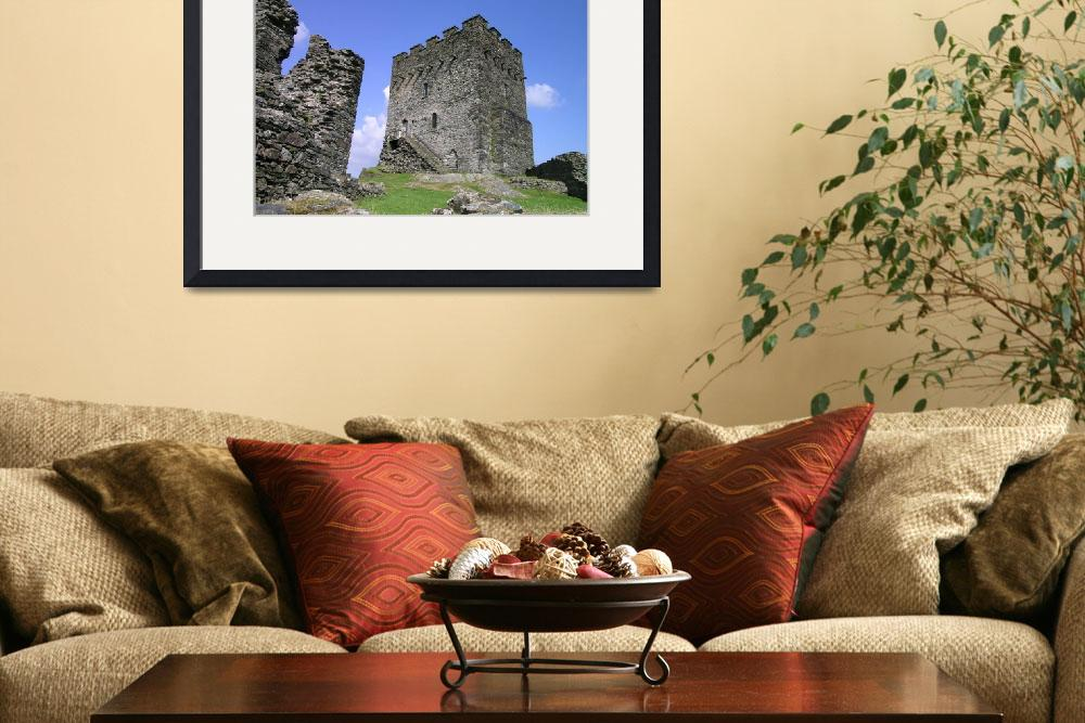 """""""Dolwyddelan castle.""""  (2006) by Lawsonclout03"""