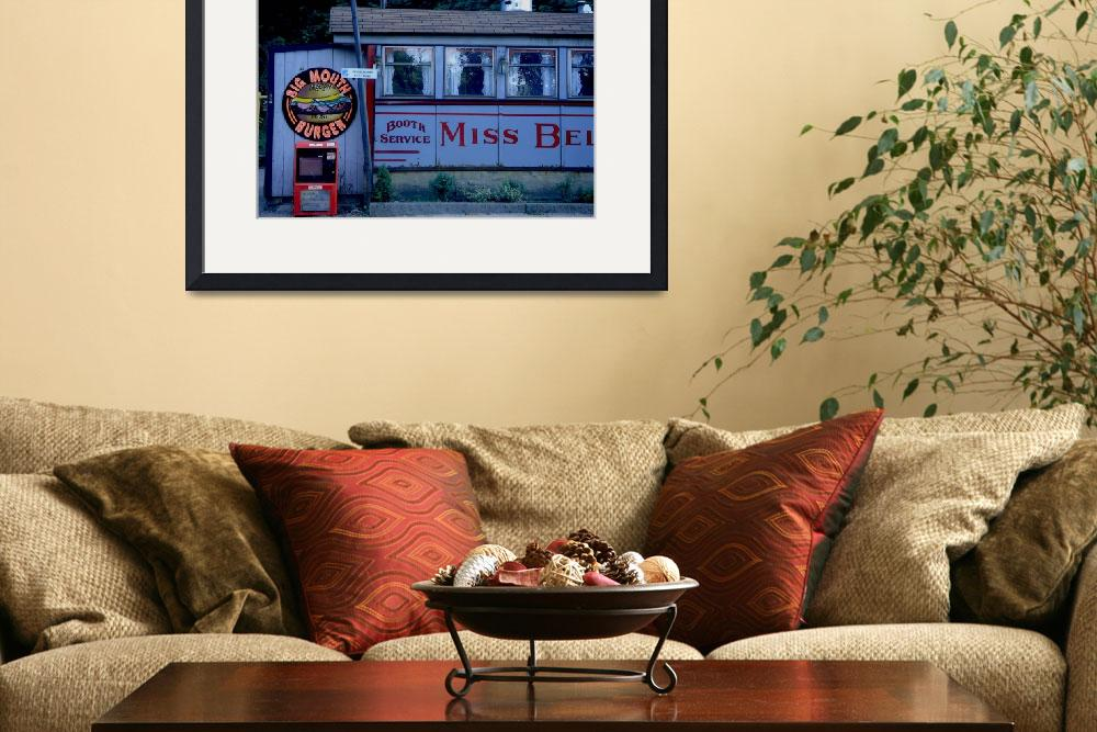 """""""Miss Bellows Falls Diner 1&quot  (2010) by visualcontact"""