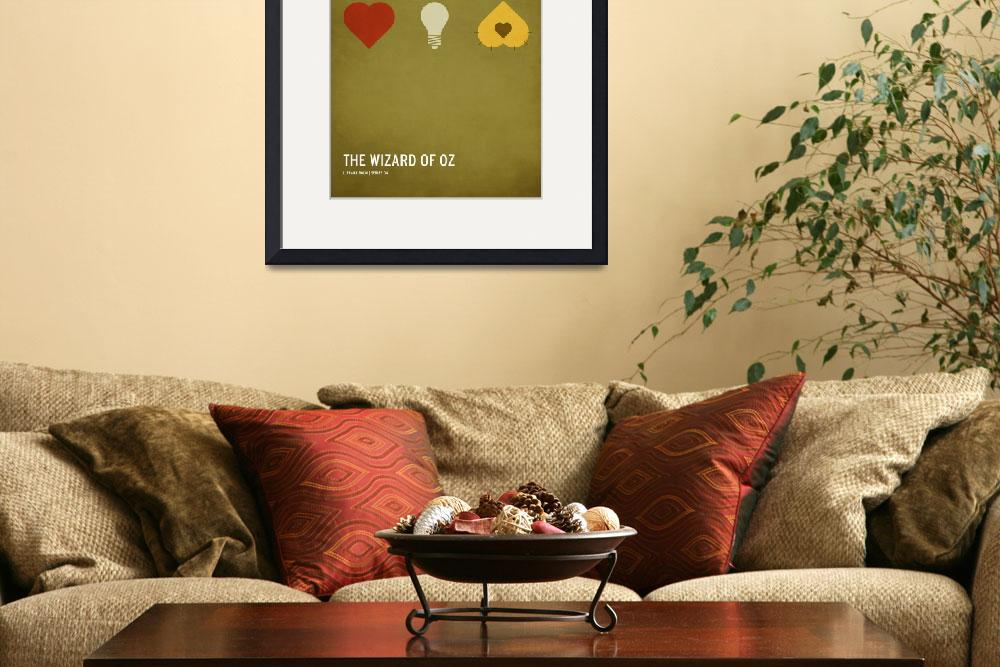 """""""The Wizard of Oz (Kid Friendly)&quot  (2010) by squareinchdesign"""
