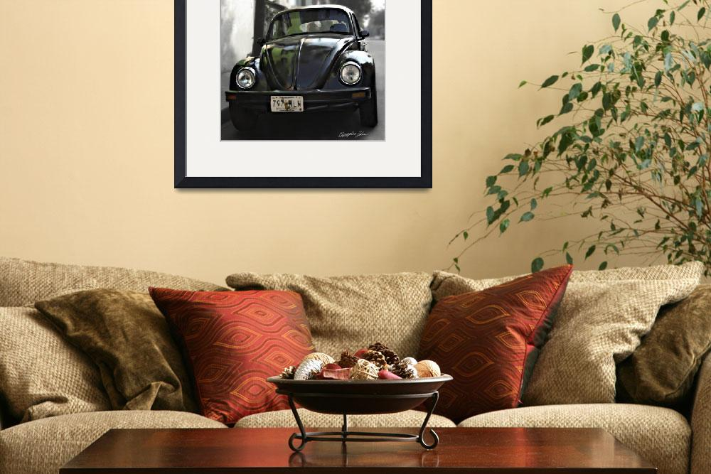 """Black VW Bug 2&quot  (2009) by ChristopherInMexico"